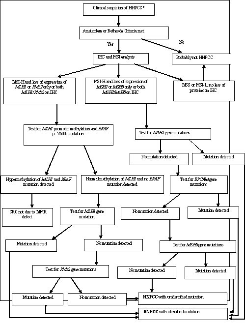 Hereditary Nonpolyposis Colorectal Cancer Hnpcc From Diagnosis To Surgical Management Of The Main Hereditary Form Of Colorectal Cancer A Review